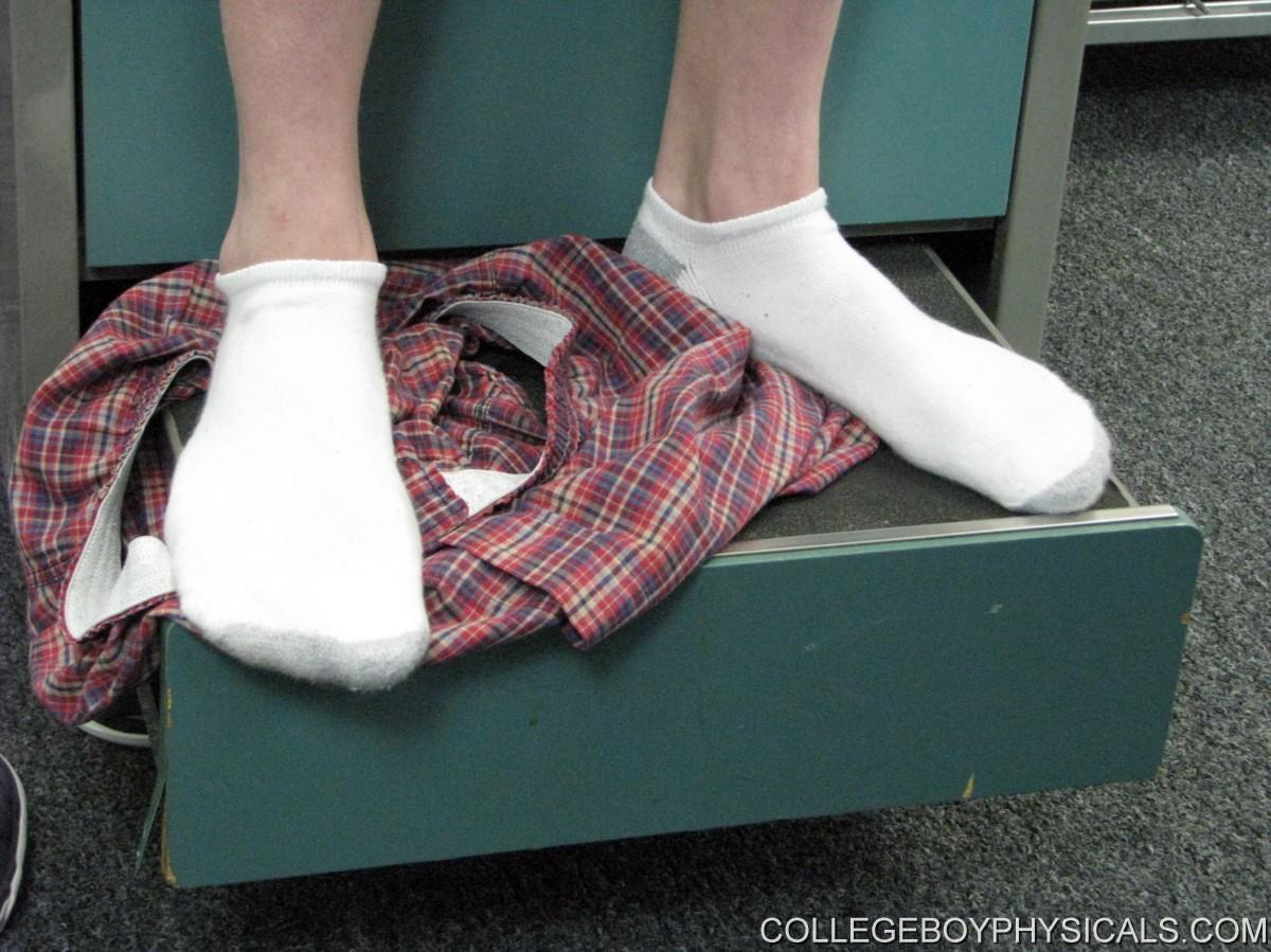 boy fetish sock