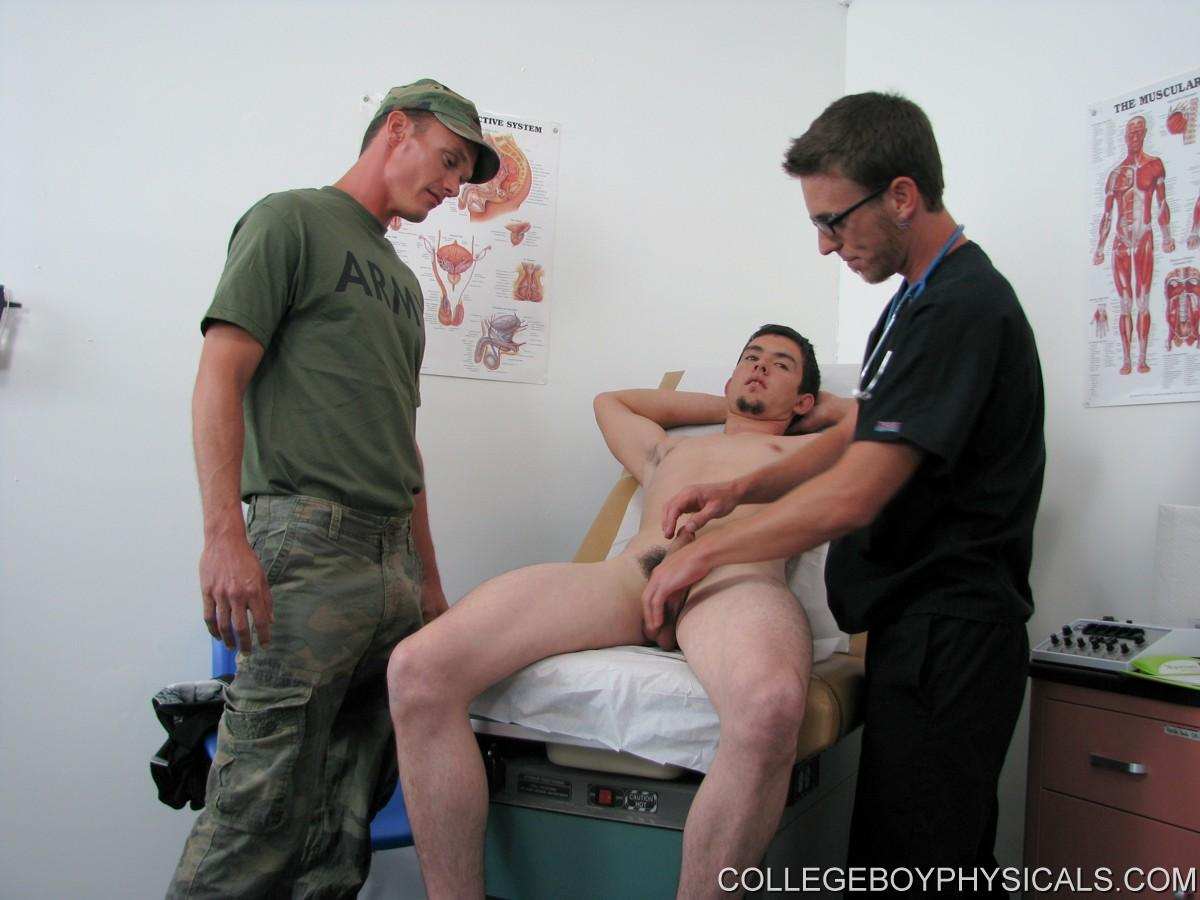 guy group sex College Boy Physicals David was a really hot guy