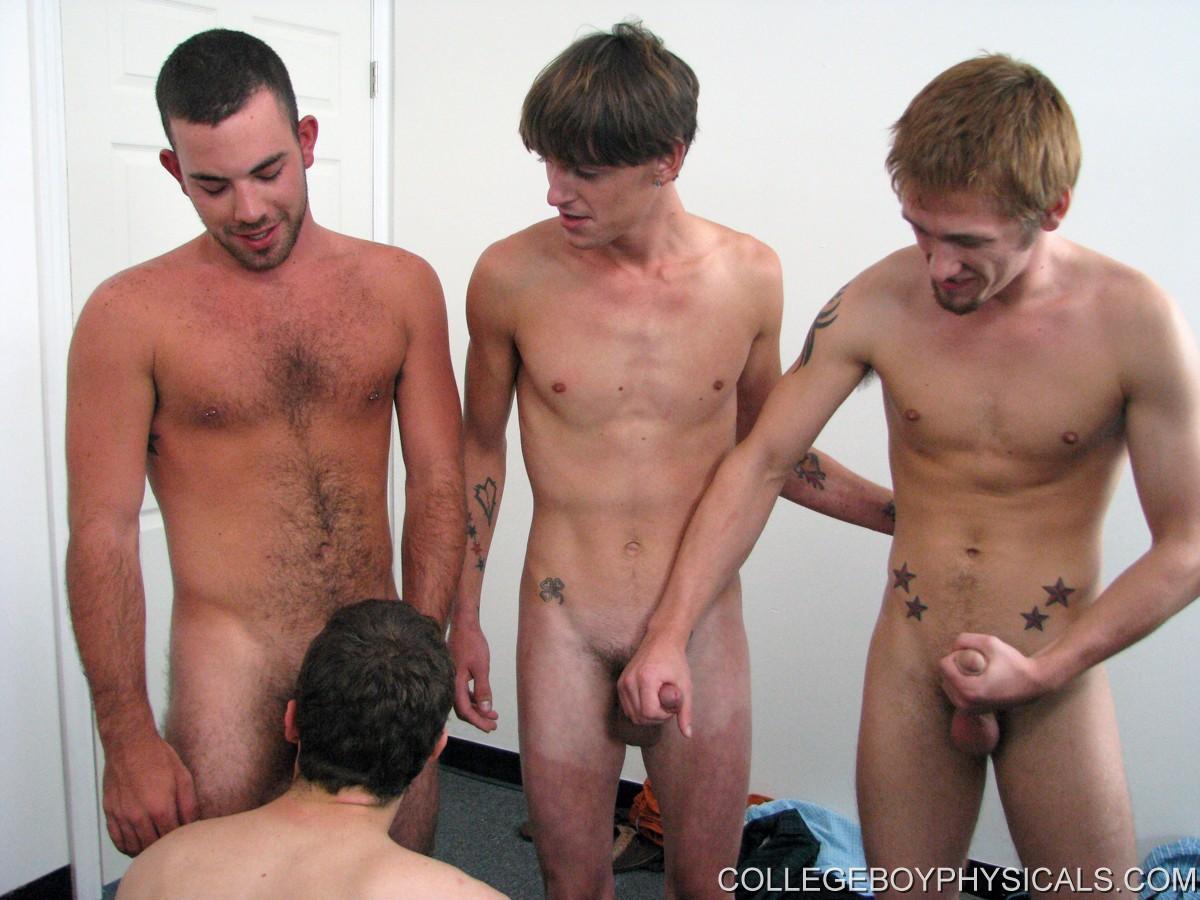 Nude college guys
